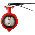 Notched Wafer Butterfly Valve