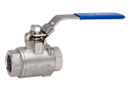 2 Piece Stainless Steel Seal Welded Ball Valve - 2,000 PSI